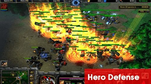 Hero Defense Warcraft 3