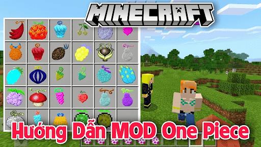 mod one piece minecraft pe